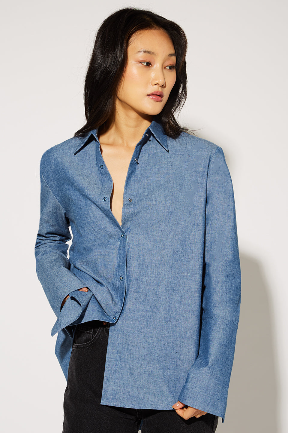 Husband Shirt Chambray