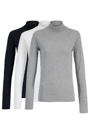 Everyday Turtleneck - 3 Pack
