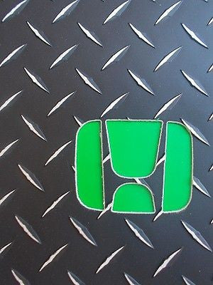 Accord 93-97 Diamond plate aluminum floor mats Black powder coated or Polished