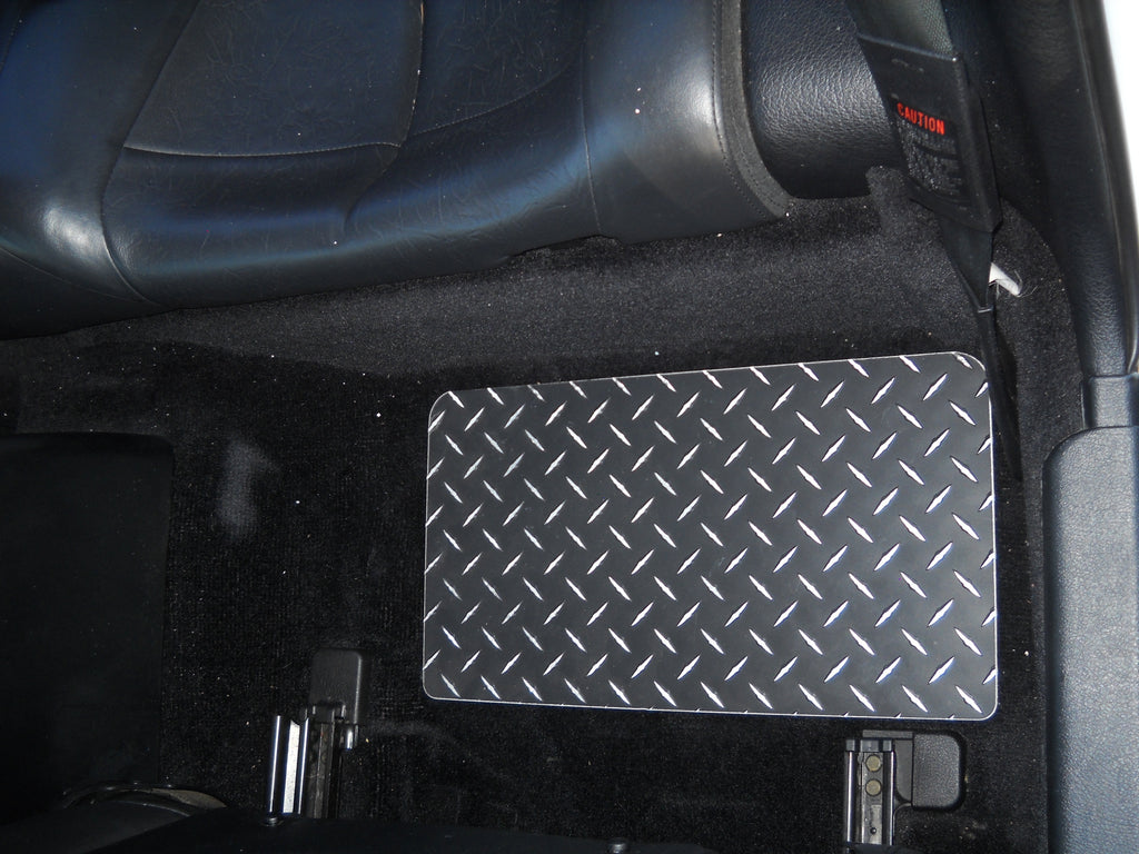 Mitsubishi 3000GT VR-4  Black Diamond aluminum floor mats front and rear