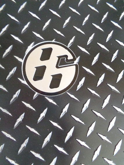 Toyota GT 86 Scion FR-S  86 12-19  Aluminum floor mats.  Black powder coated metal treads