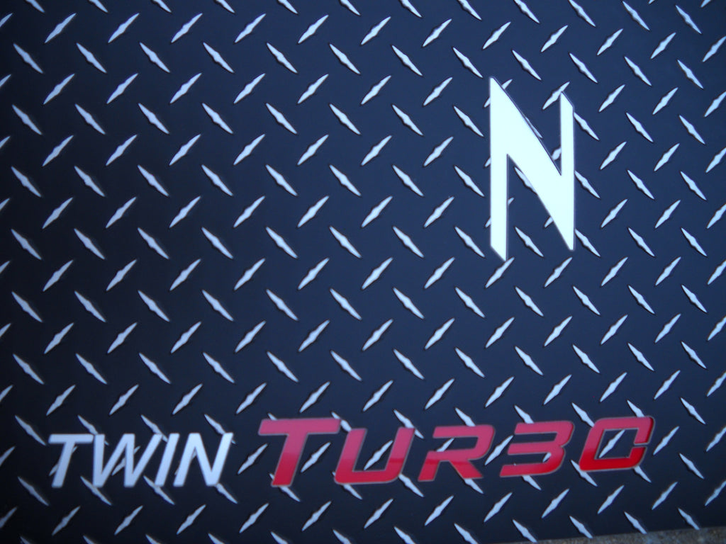 Nissan 300ZX 300ZX Turbo 90-99 Black METAL diamond mats solid aluminum