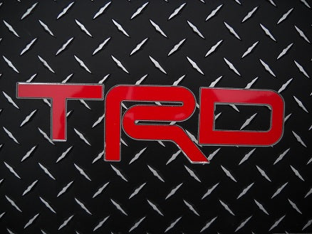 Toyota FJ TRD 06-14  Black Aluminum diamond tread plate floor mats