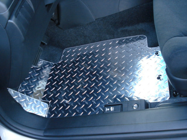 Accord 04-08 coupe  Polished Chrome  Metal diamond aluminum floor mats