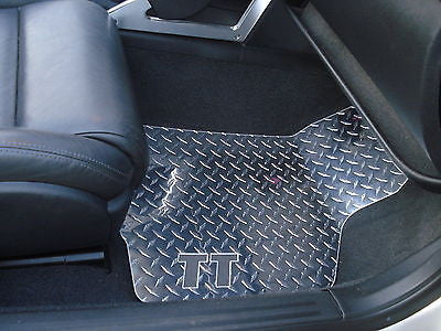 Audi TT 00-06 | Polished aluminum floor mats