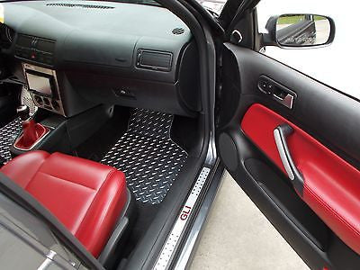 Volkswagen Golf/Jetta (MK4) 99-05 aluminum floor mats Polished finish