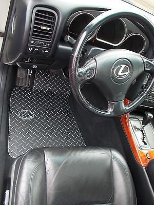 GS 97-05  300/400/430 Black diamond Plate Metal floor mats