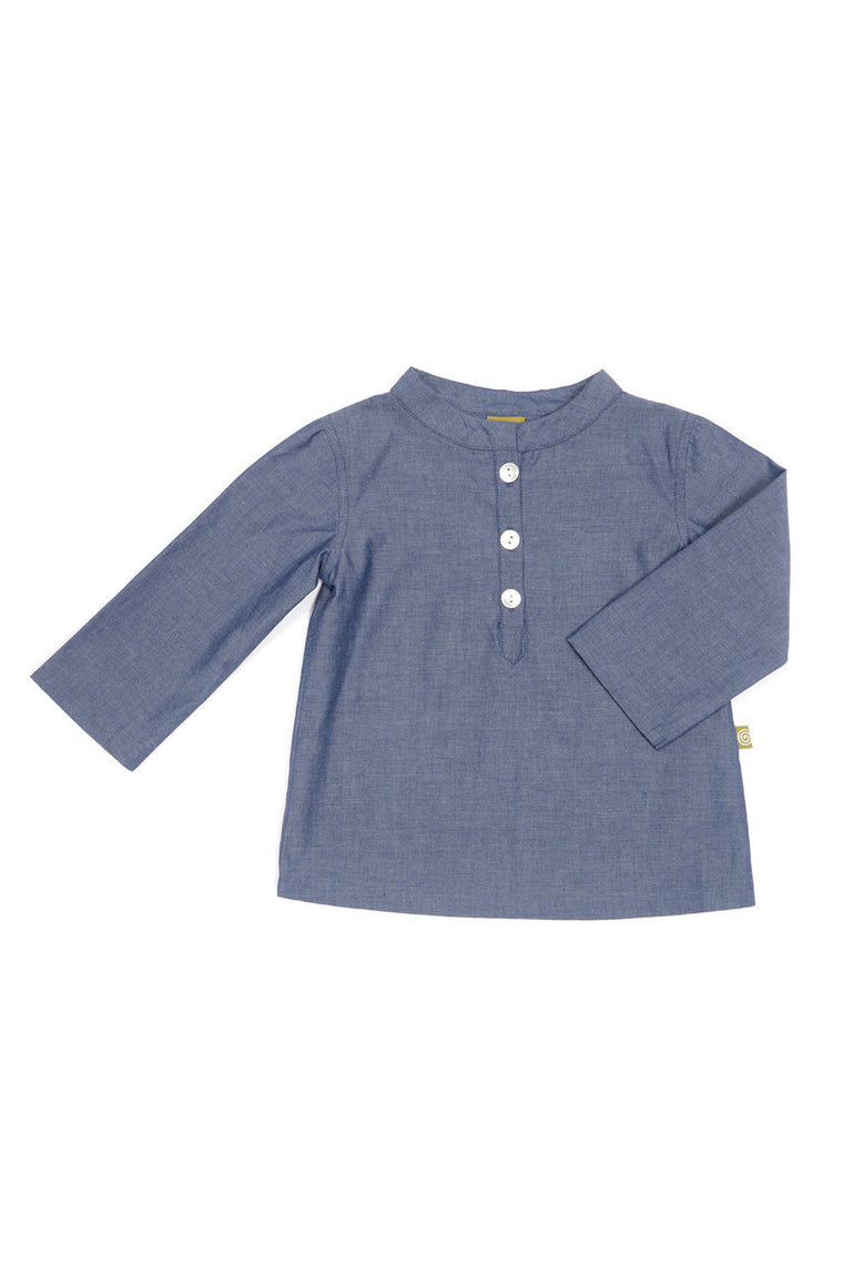 Cove Shirt - Indigo