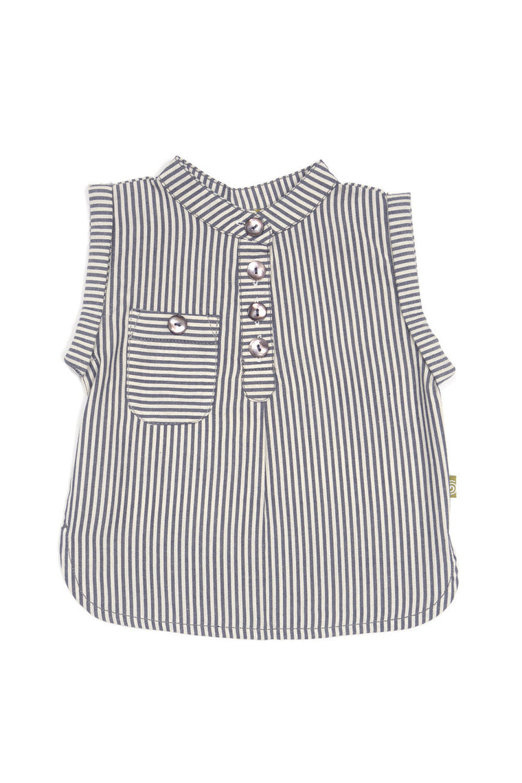 Heidi Top- Char Stripe
