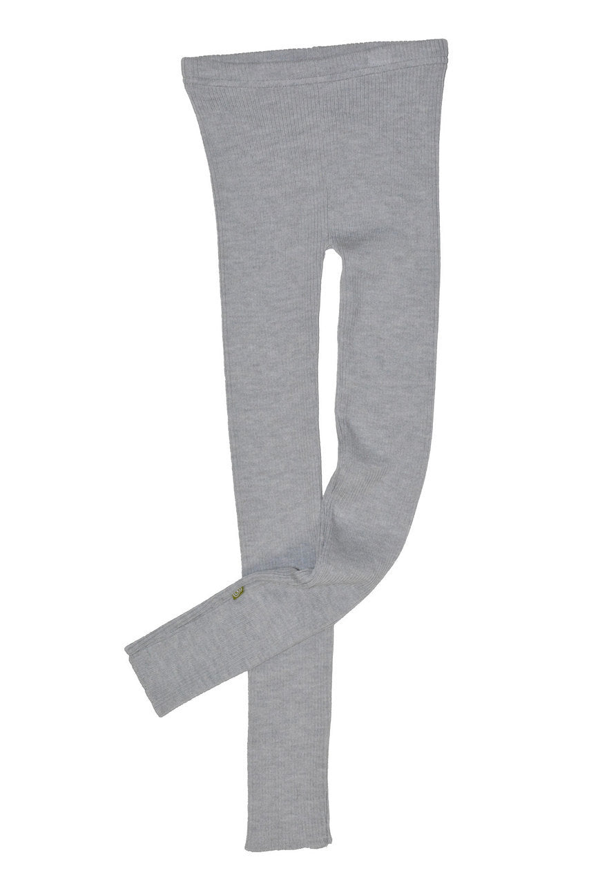 Knit Leggings Silver