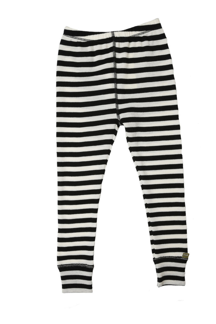 Merino Thermal Leggings Wide Stripe