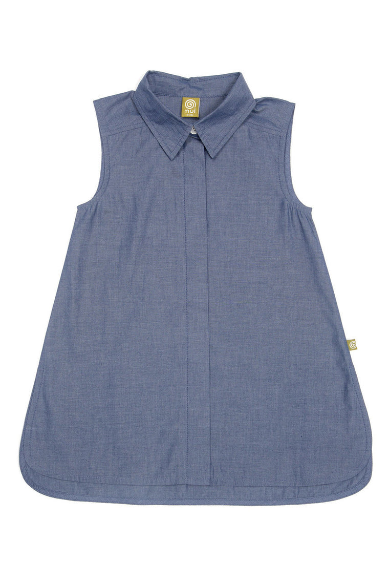 Molly Dress Indigo