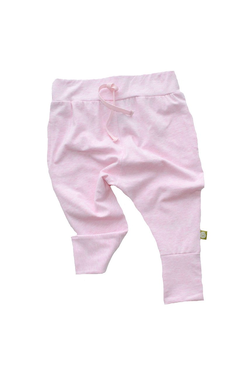 nui organic cotton kaka pants rose