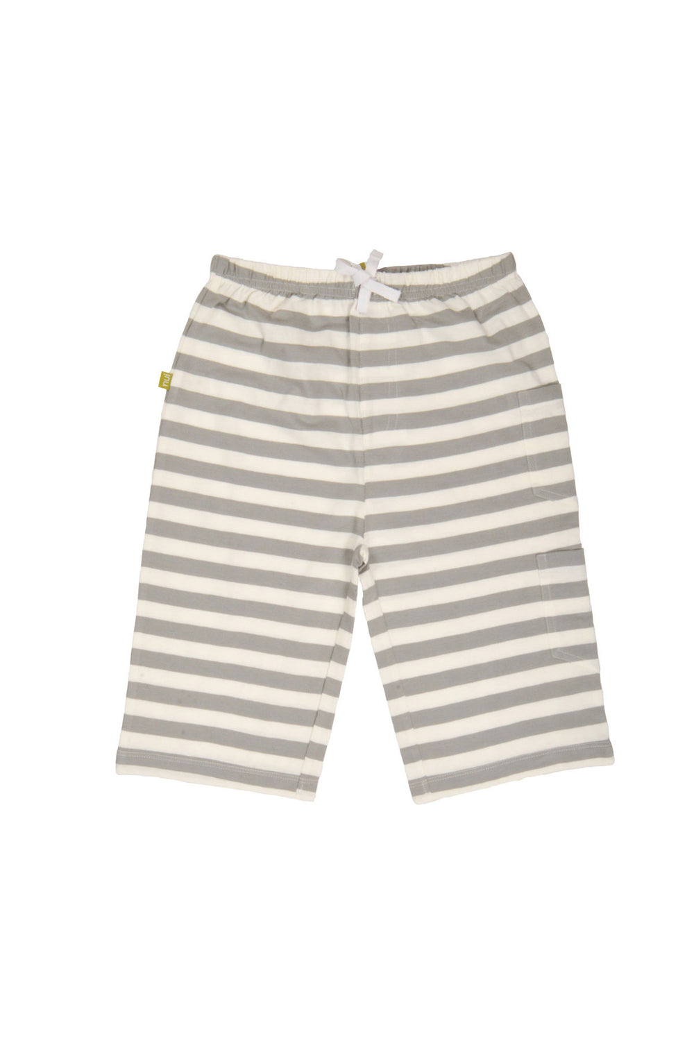 Kavi Shorts- Grey Stripe
