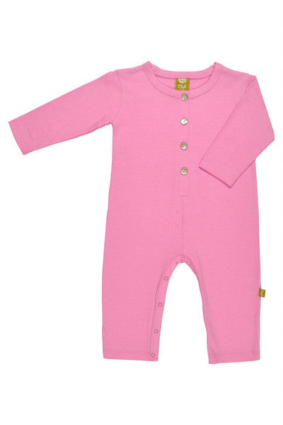 Big Play Romper- Fuschia