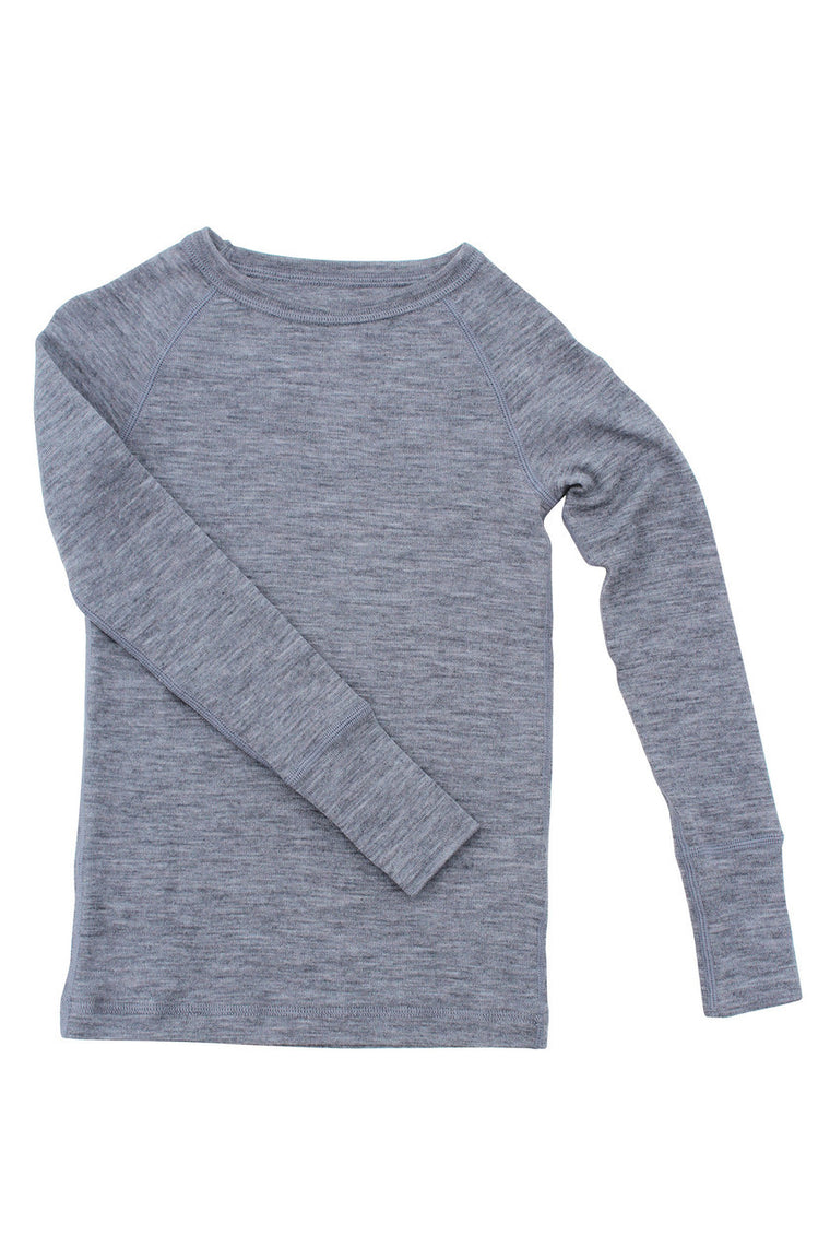 Merino Thermal Crew Silver