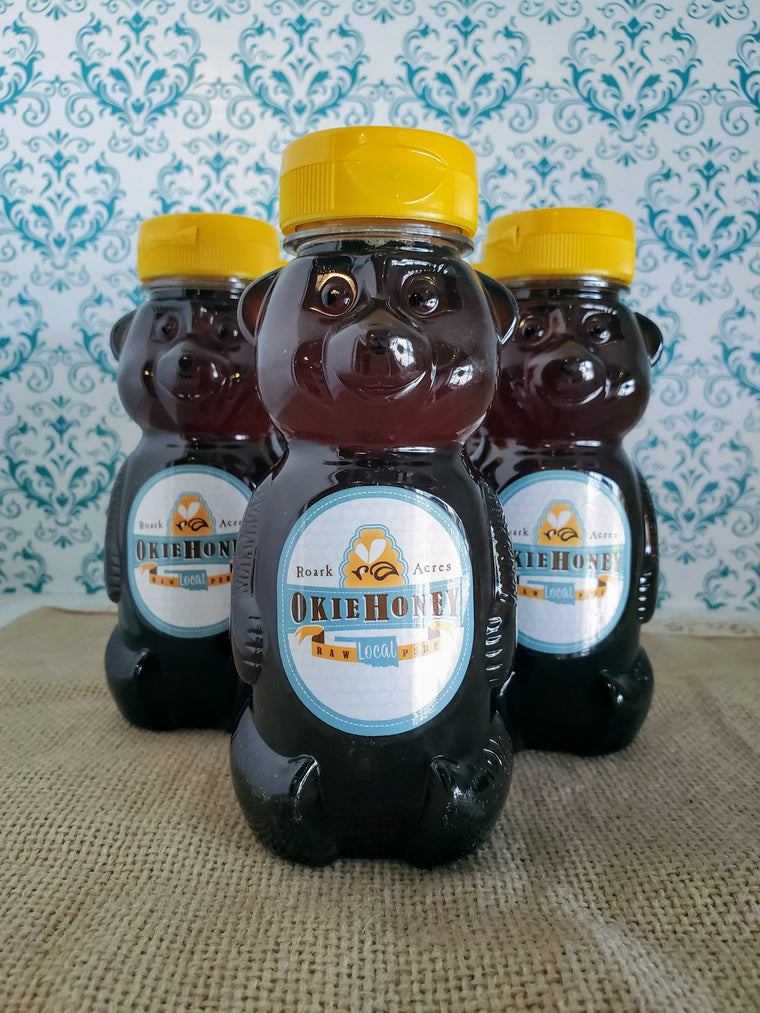 Okie Honey ~ Fall Harvest ~ Plastic Bear Squeeze Bottle