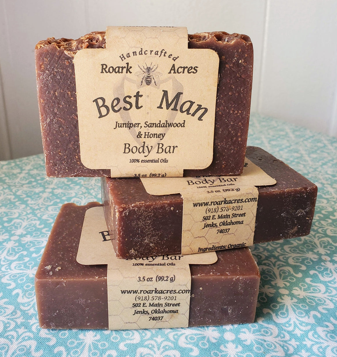 """Best Man"" Honey Soap"