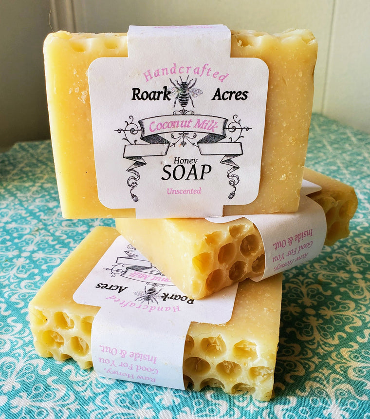 Coconut Milk & Honey Soap