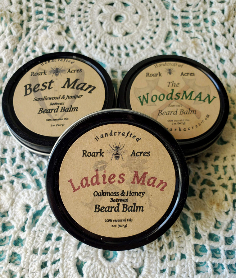 Man Scents Beard Balm