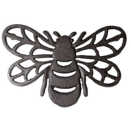 Honey Bee Cast Iron Trivet