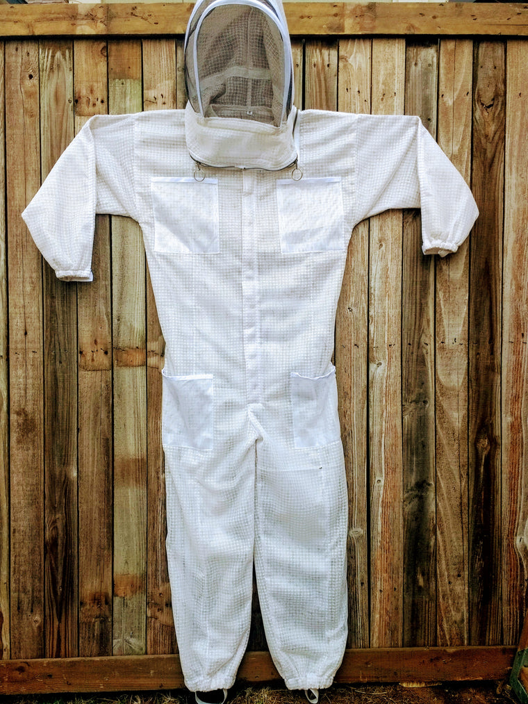 Vented Beekeeping Suit with Veil