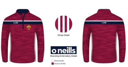 Plunketts Slaney Half Zip Top