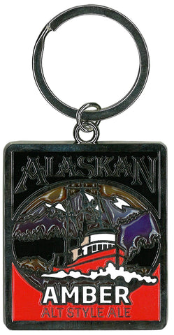 Stained Glass Key Chain ACE