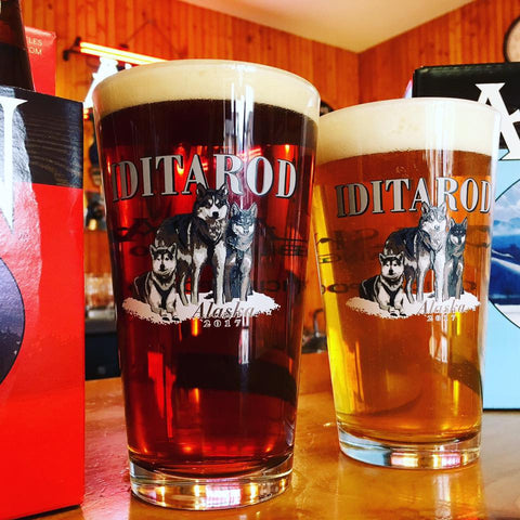 2017 Iditarod Pint Glass
