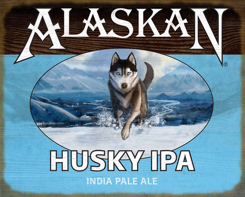 Husky IPA Wood Sign