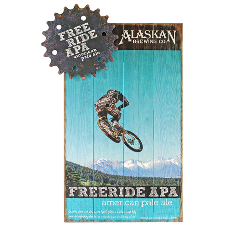 Freeride APA Wooden Sign