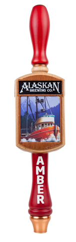 Alaskan Amber Tri-Sided Tap Handle