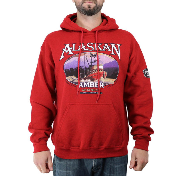 Amber Ale Cotton Blend Hoodie