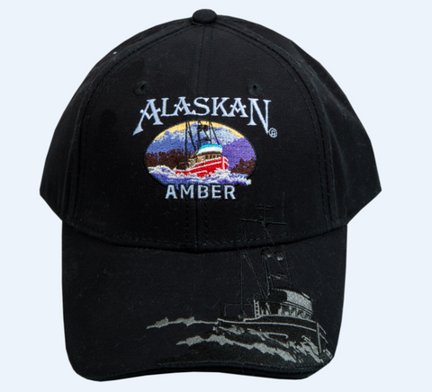 Alaskan Amber in Action Hat