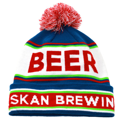 Beer Beanie with Pom