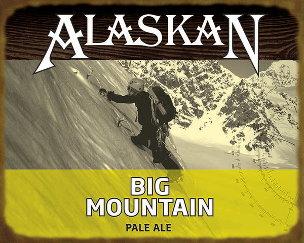 Big Mountain Wooden Sign