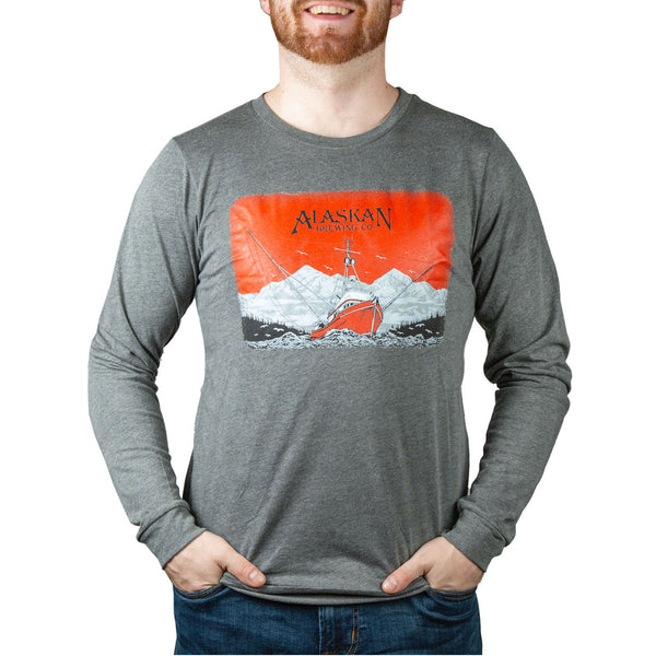 Amber Ale Can LS Tee
