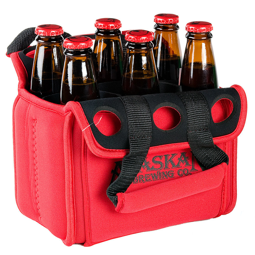Alaskan brewing co 6 pack tote for Craft beer cycling jerseys