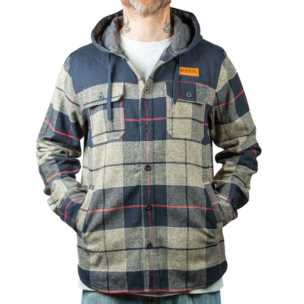 TS Quilted Flannel Jacket