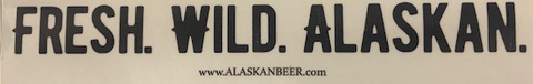 Fresh Wild Alaskan Sticker