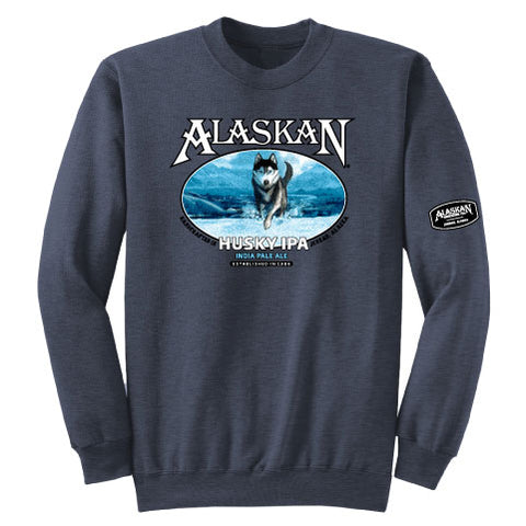 Husky IPA Cotton Blend Crew Sweatshirt