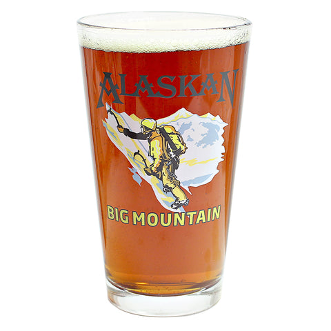 Alaskan Big Mountain Pale Pint Glass