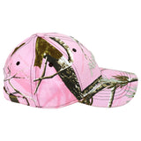 Real Tree Pink Camo Cap