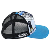 Snow Boarder Sublimated Cap
