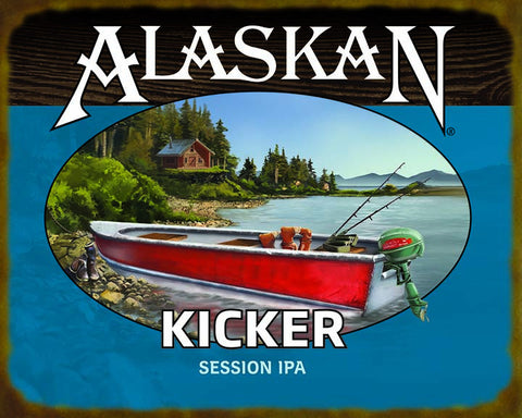Kicker Session IPA Wooden Sign