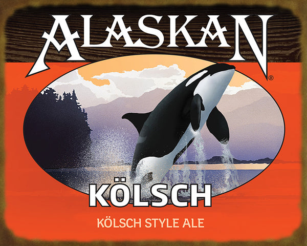 Kolsch Ale Wooden Sign