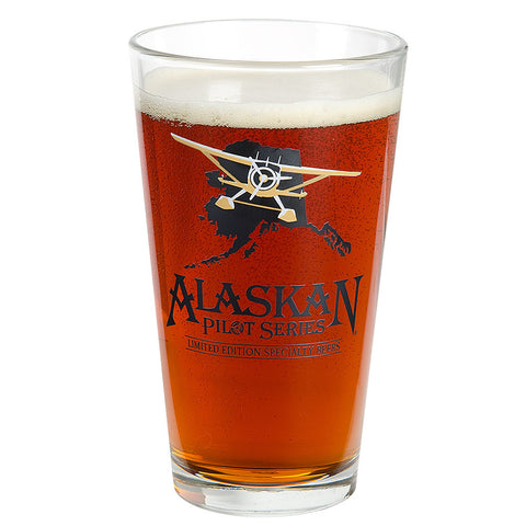 Alaskan Pilot Series Pint Glass