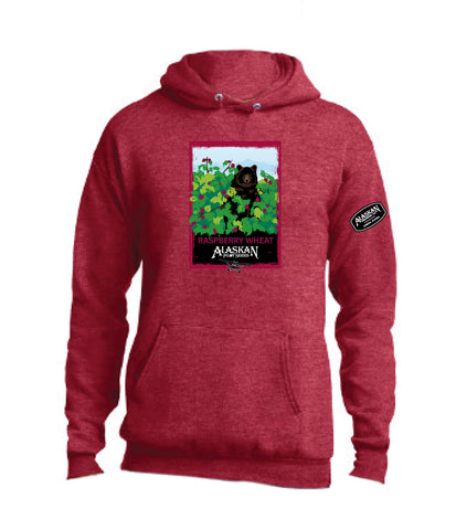 Raspberry Wheat Hoodie 19 - Pilot Series