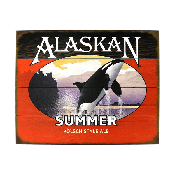 Summer Ale Wooden Sign