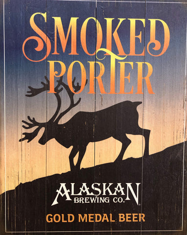 Smoked Porter 2018 Wooden Sign